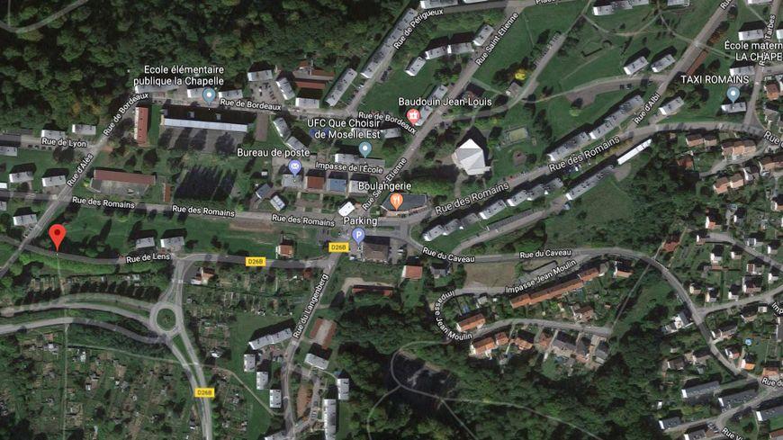 Le quartier de la Chapelle à Hombourg-Haut