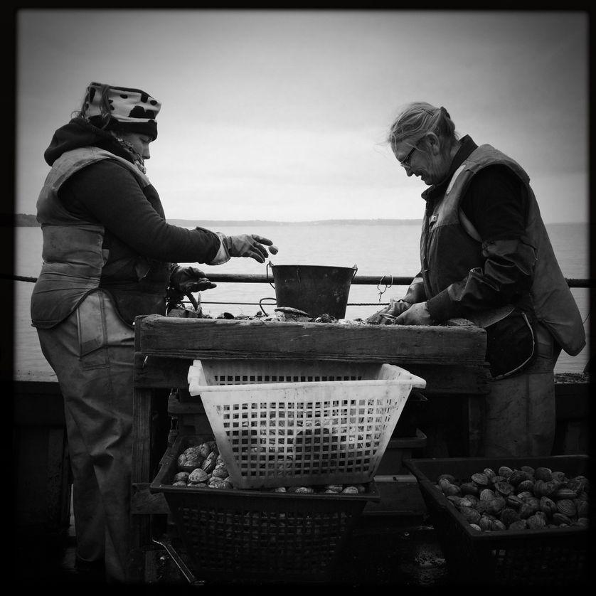 Erell et Gene, pêcheurs