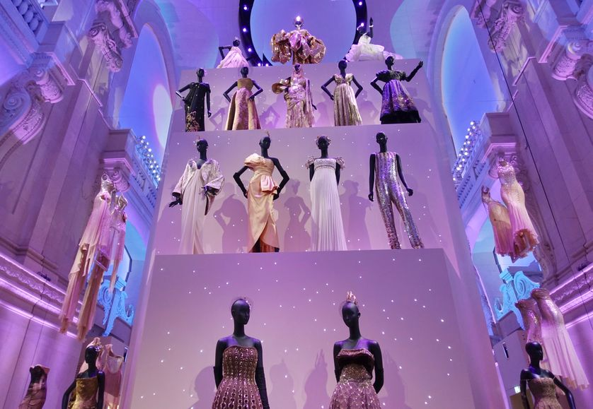 A tower of Dior.