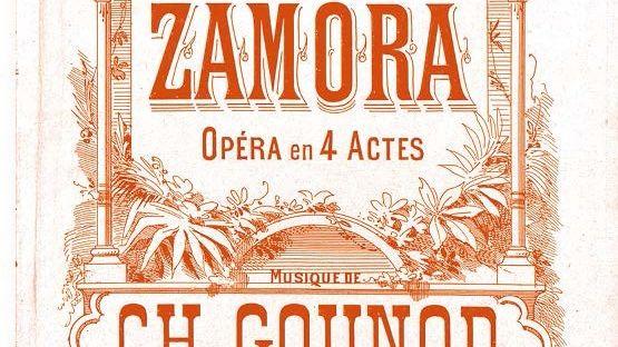 """Affiche """"Le tribut de Zamora"""""""
