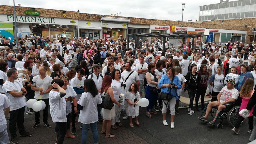Les habitants de Vierzon ont répondu, nombreux, à l'appel de l'intersyndicale