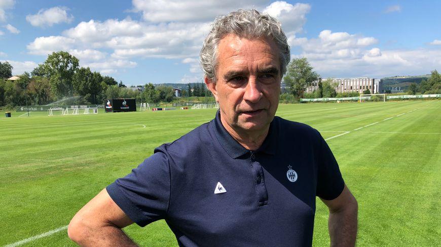 Dominique Rocheteau, l'ancien Vert et actuel directeur sportif de l'AS Saint-Etienn, a joué contre l'Argentine avec l'équipe de France pour le mondial 1978.