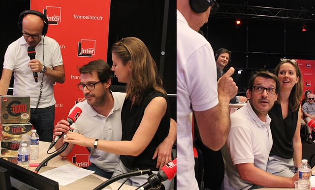 Flash à deux voix: Nicolas Stoufflet, Bruno Duvic et Charline Vanhoenacker