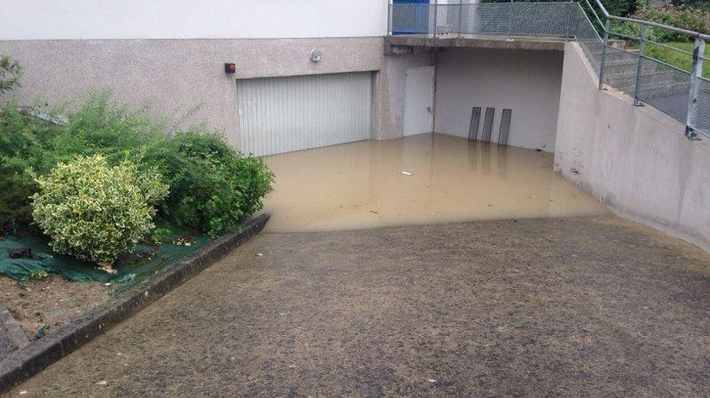 Plusieurs communes d'Ille-et-Vilaine, dont Liffré ont été touchées ce lundi d'importantes inondations