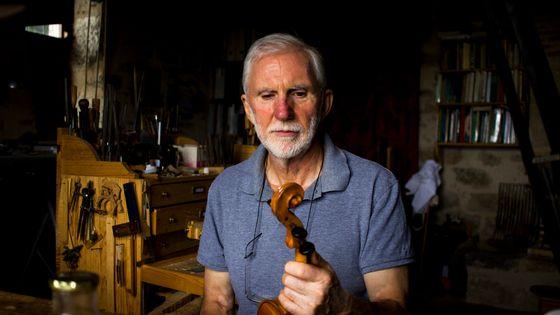 Le luthier Christian Urbita vient de terminer le dernier violon de Renaud Capuçon/ baptisé Dame Aleth.