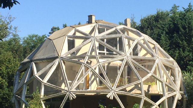 L'une des maisons expérimentales de Jean Daladier  en forêt de Sèves