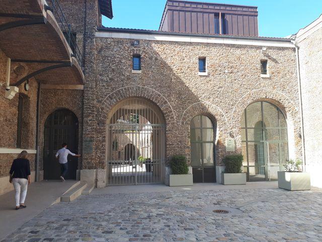 La Cour d'honneur de la prison de la Santé, entièrement rénovée après 4 ans de travaux