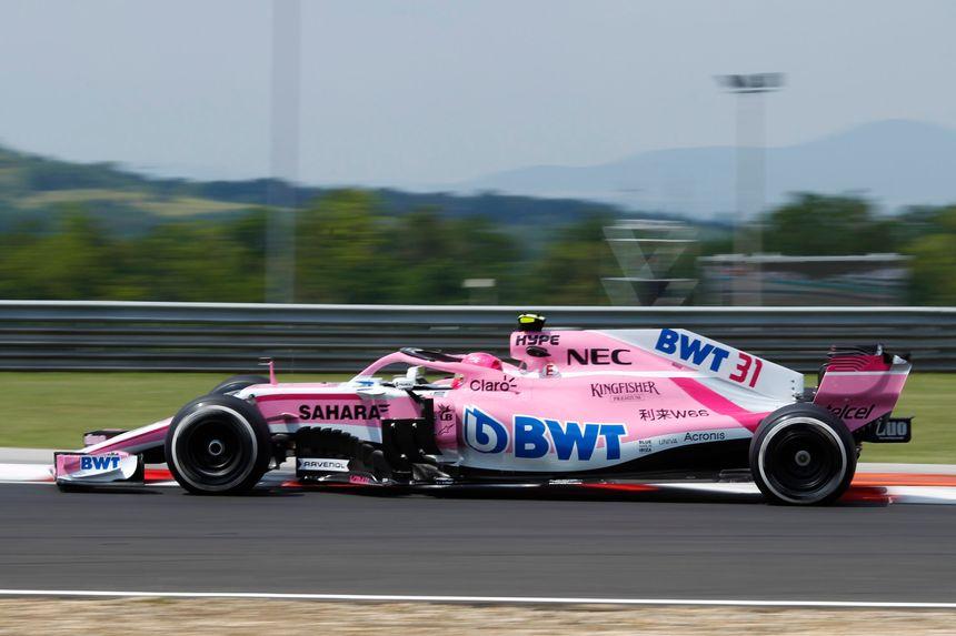 Grand Prix de Hongrie en queue de peloton pour Esteban Ocon
