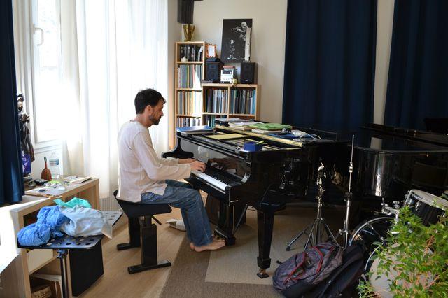 Le pianiste Baptiste Trotignon