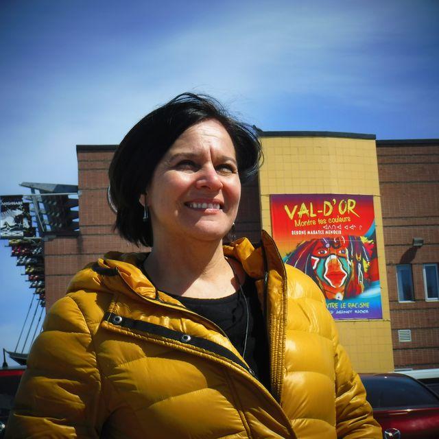 Edith Cloutier, directrice du Centre d'amitié autochtone de Val d'Or