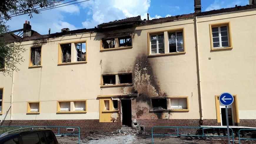 15 classes de l'école Jaurès de Oissel sont détruites après l'incendie