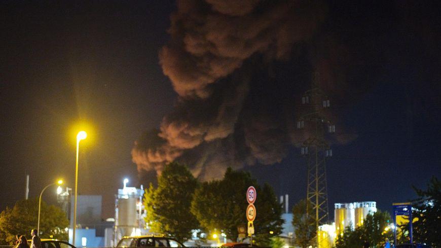 Le site de l'entreprise Soprema a brûlé jeudi soir à Strasbourg