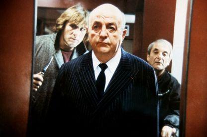 """Bernard Blier dans """"Buffet froid"""", réalisé par Bertrand Blier, avec Gérard Depardieu et Jean Carmet"""