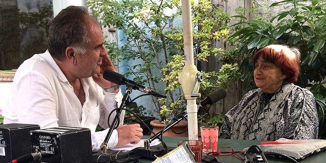 Laurent Delmas et Agnès Varda