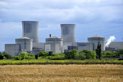 Centrale nucléaire de Tricastin dans la Drôme