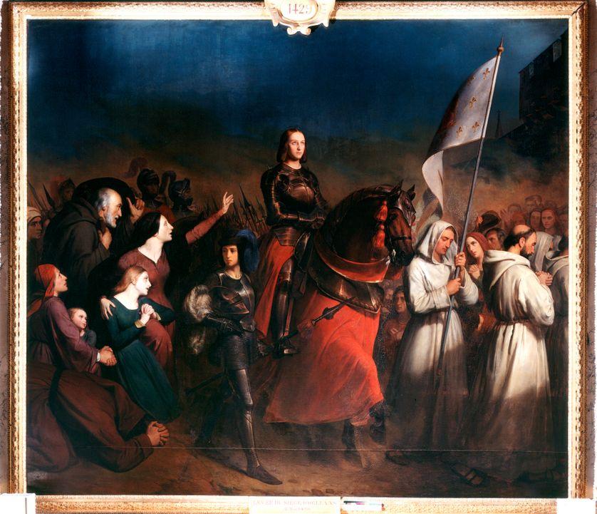 Jeanne d'Arc entrant à Orléans, par Henry Sheffer