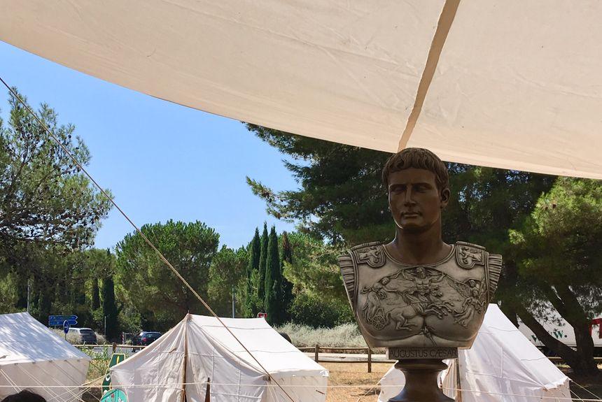 Même l'empereur Auguste a fait le déplacement