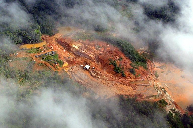 Le projet d'exploitation d'une mine d'Or en Guyane menace la biosphère d'un territoire déjà menacé.