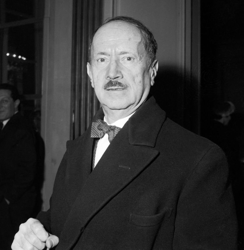 Saint-John Perse en 1958
