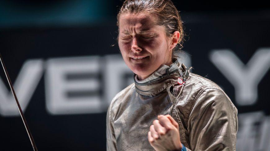 Cécilia Berder a été la dernière à toucher dans cette finale des championnats du monde par équipes.