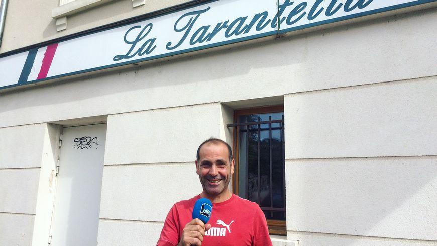 Arturo Testa, La Tarantella à Asnières-sur-Oise
