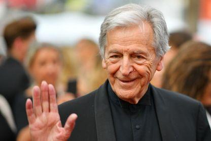 Le cinéaste Costa-Gavras le 25 mai 2017 pendant la 70ème édition du Festival de Cannes.