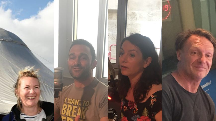 Camille Beaumier, Jean-Charles Raymond, Vanina Delannoy, Philippe Saire
