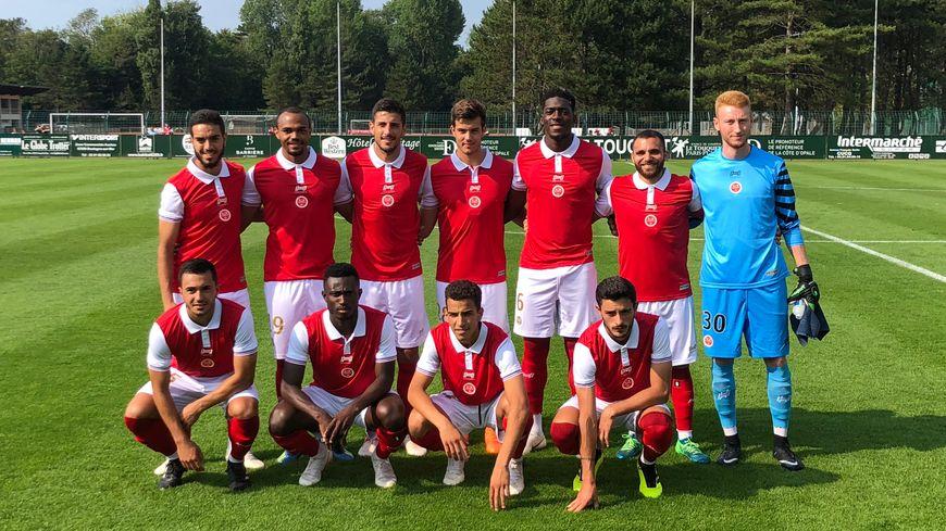 L'équipe qui a disputé les 60 premières minutes face à Bruges.