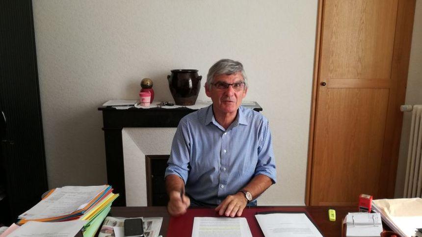 Alain Gradelet, maire de Til-Châtel et président du syndicat des eaux