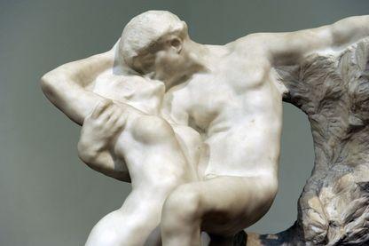 Printemps Éternel (détail) d'Auguste Rodin (1884)
