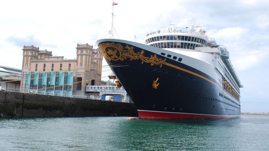 Le Disney Magic sera à Cherbourg, samedi 28 juillet, à partir de 7h.