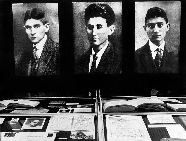 Trois portrait de Franz Kafka, au musée des Beaux-Arts de Berlin - 1966