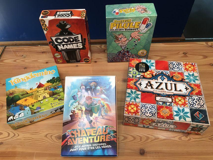 La sélection de jeux de société de Clément Faverial