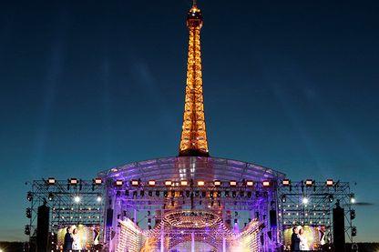 Le concert du 14 juillet au pied de la Tour Eiffel