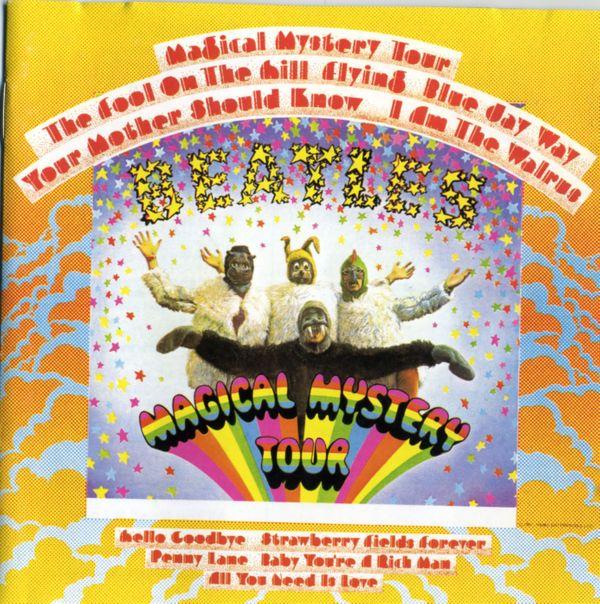 CD Beatles Magical Mystery Tour