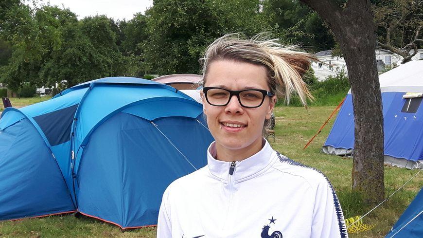 Océane, l'animatrice du camping du Lac Vauban