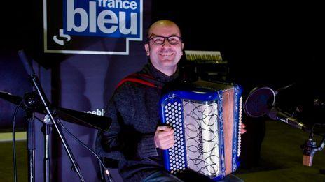 Sébastien Farge, musicien et chroniqueur sur France Bleu Limousin