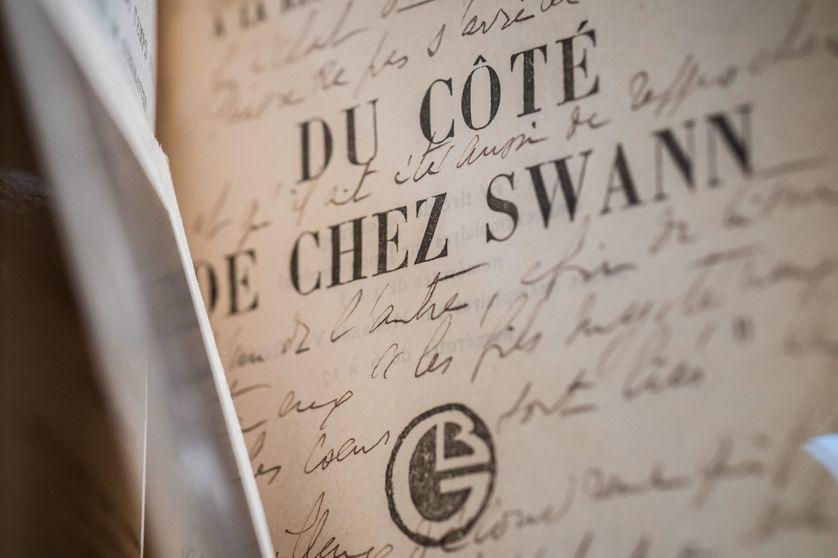 Manuscrit original de l'ouvrage de Proust