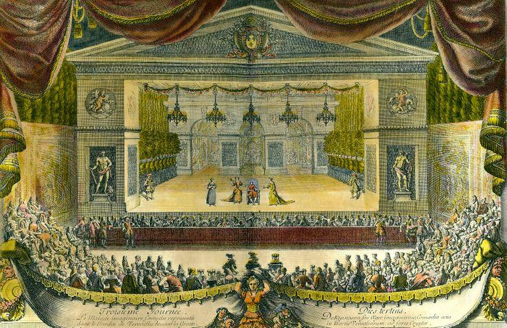 La Comédie-Française n'a eu de cesse de jouer pour le pouvoir. Ici une représentation du Malade Imaginaire à Versailles.