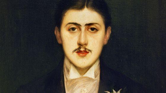 Portrait de Marcel Proust (1870-1922).