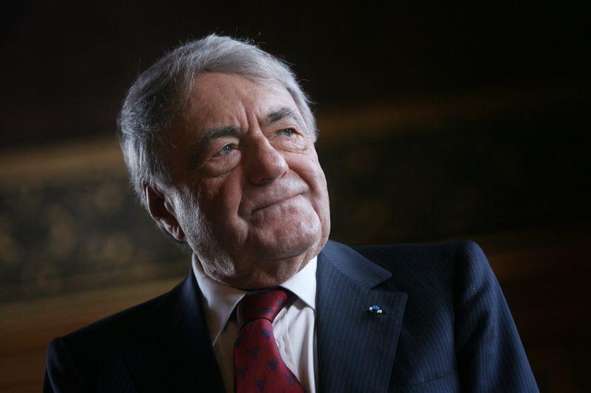 Claude Lanzmann, à Paris en 2009