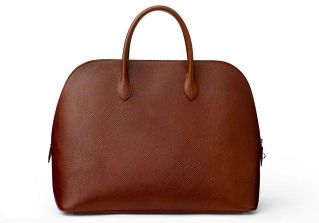 Le sac Bolide en cuir de Russie d'Hermès