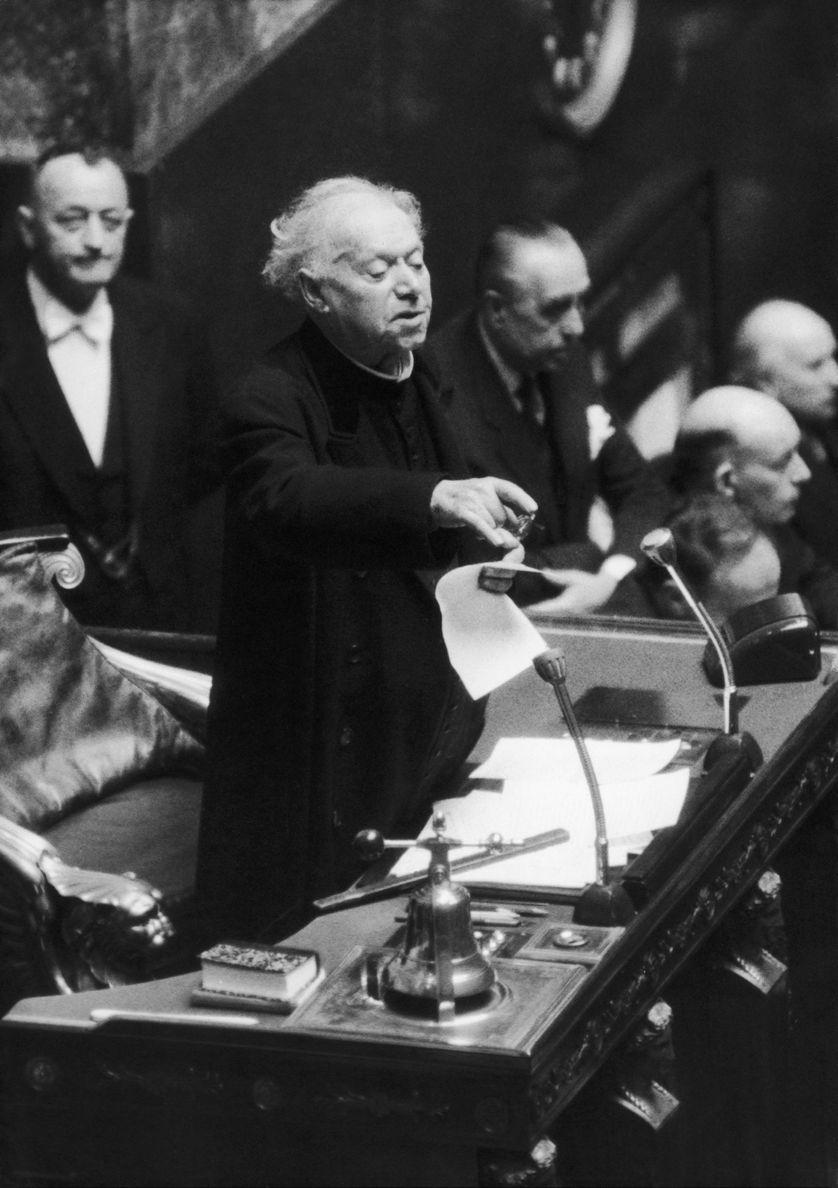Discours du chanoine Félix Kir à l'Assemblée nationale le 6 décembre 1962