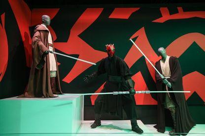 Exposition des costumes de Star Wars à New York