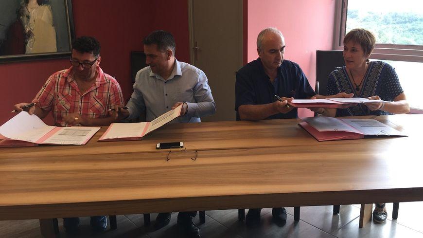 Le protocole d'accord a été signé ce vendredi après-midi