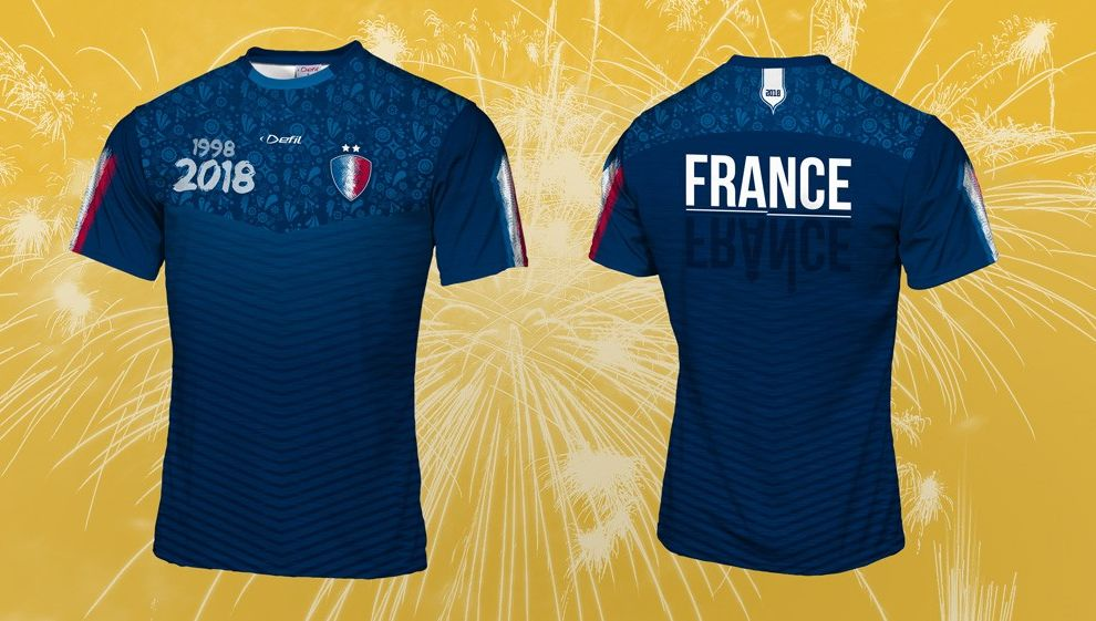 presenting new york detailed look La France championne du monde : un maillot avec les deux ...