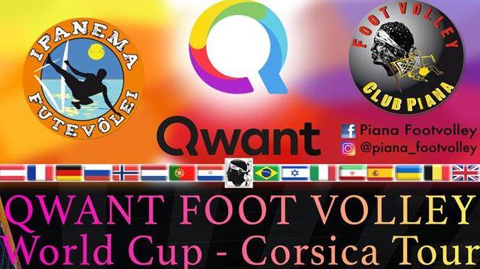 C'est le deuxième tournoi international de footyvolley en quelques semaines sur la région Ajaccienne