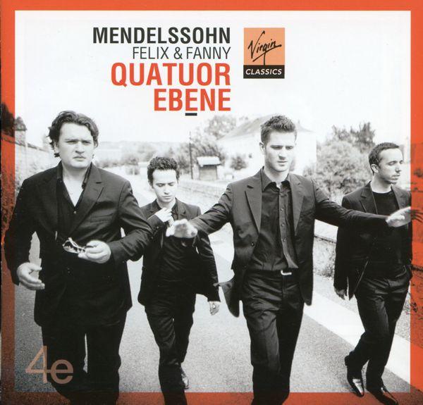 CD Mendelssohn Quatuor Ebène