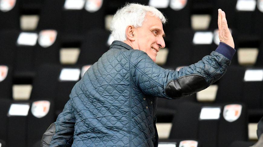 Jean-Marc Ettori, le président du Tours Football Club