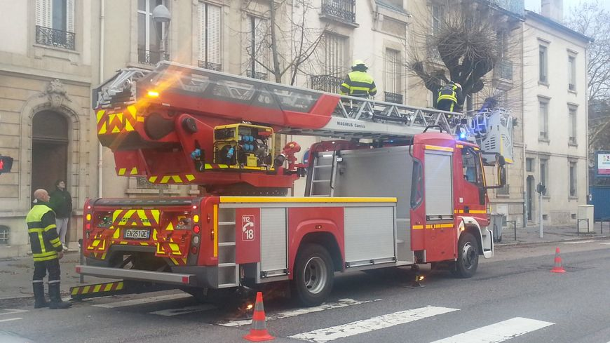 Photo d'illustration d'un camion de pompiers à Nancy